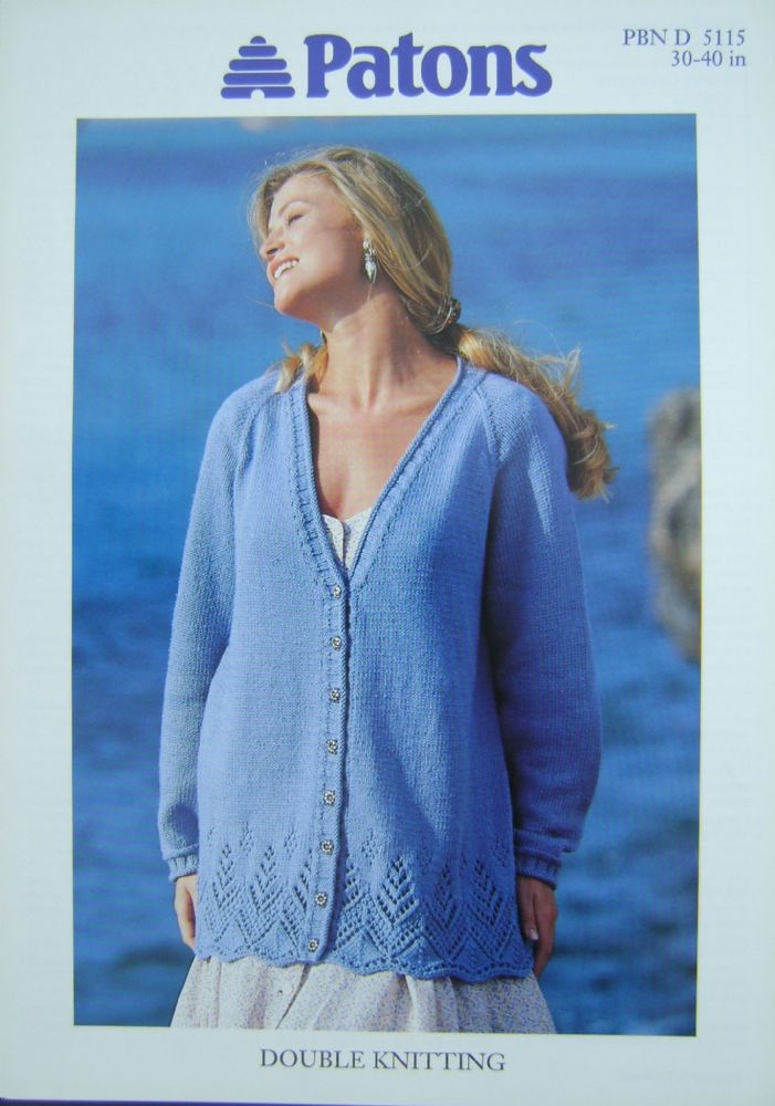 Patons Knitting Pattern 5115
